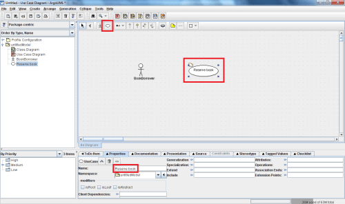 small resolution of add this information by filling in the name field in the properties tab located below the diagram again all these features are shown below