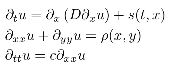 Partial Differential Equations (MATH 442)