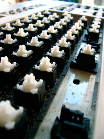 gestripped keyboard