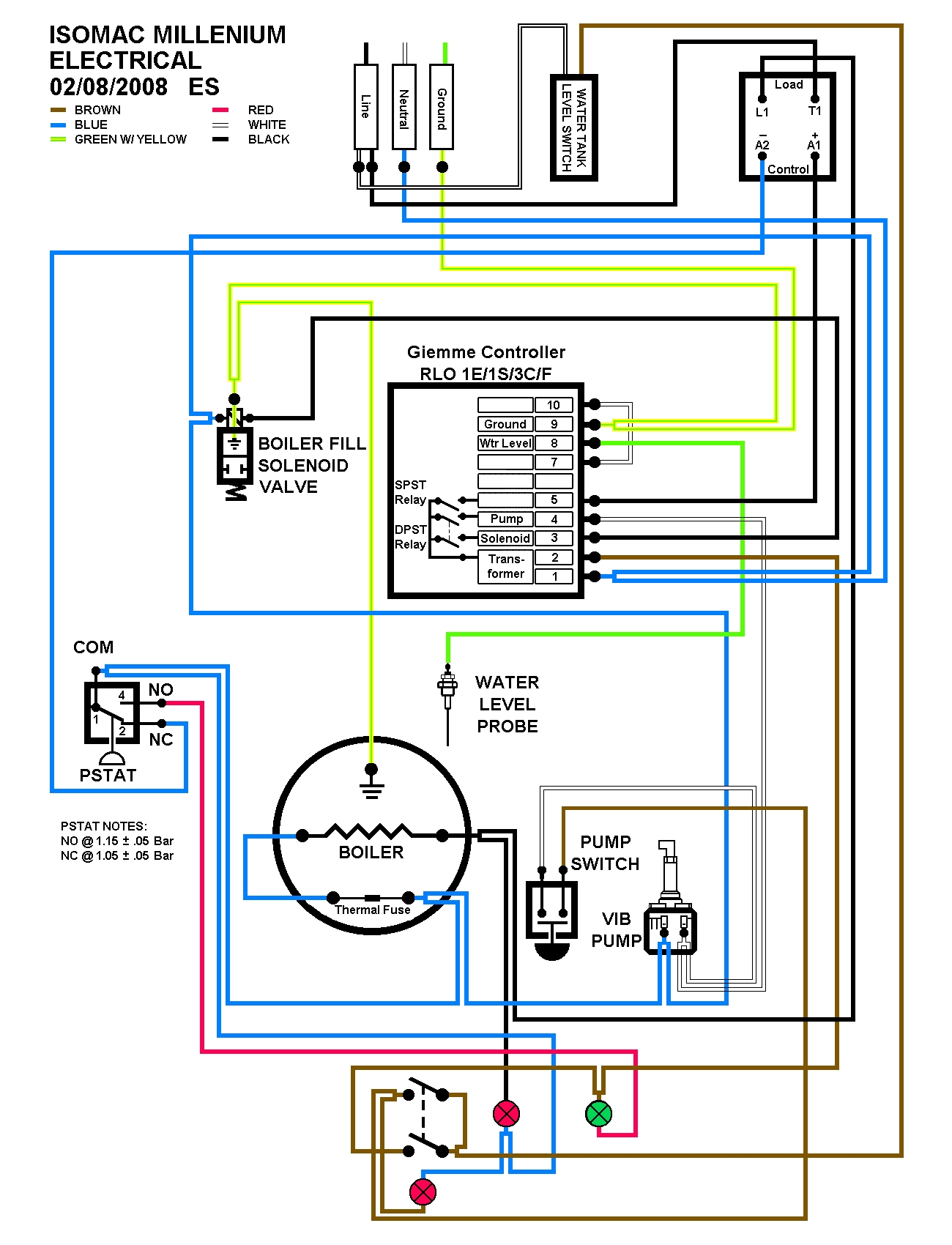 hight resolution of eric s isomac wiring diagram coffeegeek espresso espresso machines
