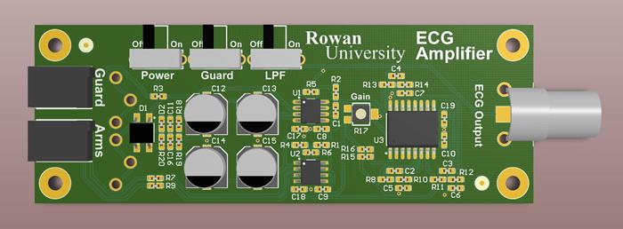 Leads Ecg Circuit Using Multisim