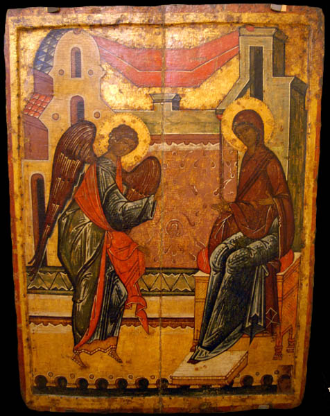 Image result for Icon Annunciation
