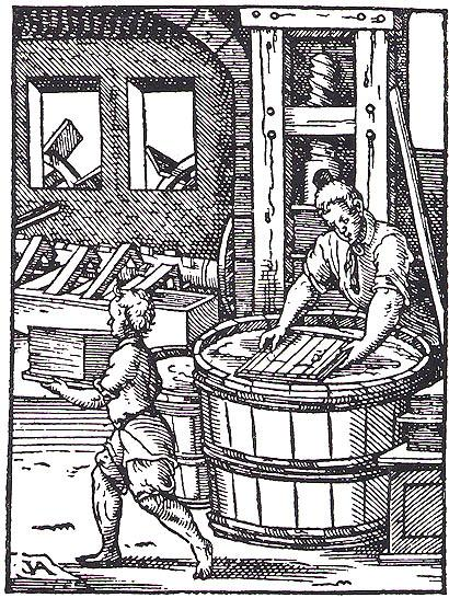 Image result for medieval paper mill