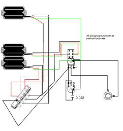 parallel push pull pot wiring diagram [ 1000 x 1080 Pixel ]