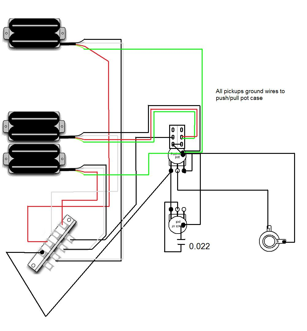 medium resolution of parallel push pull pot wiring diagram