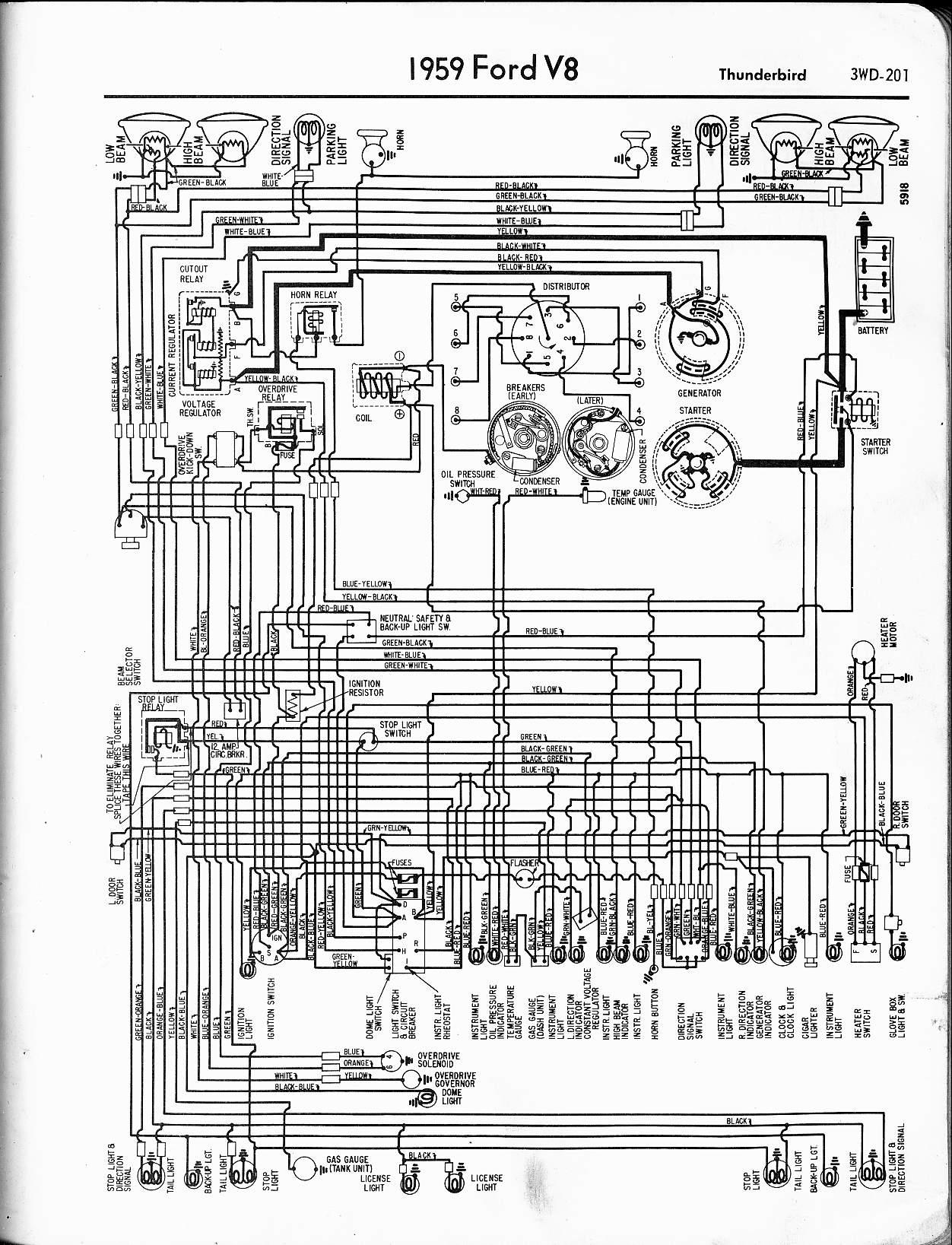 1956 ford wiring schematic