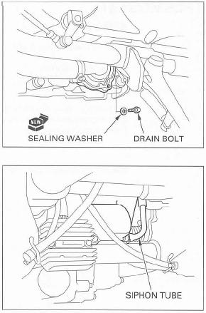 Coolant Change Page