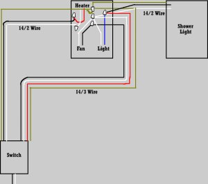 Need help with bath fan  heater  light wiring please  DVD Talk Forum