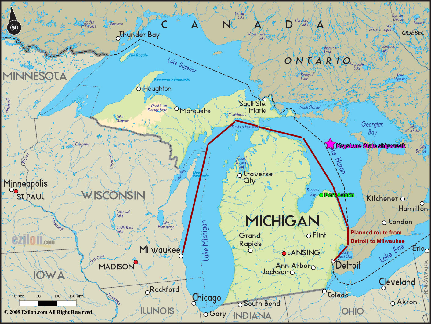 The 5 Great Lakes On Emaze