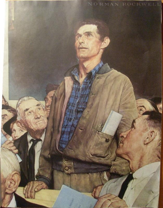 La Liberté De Parole (norman Rockwell) : liberté, parole, (norman, rockwell), Exposé, Autoportrait, Français, Mustafabm55, Emaze
