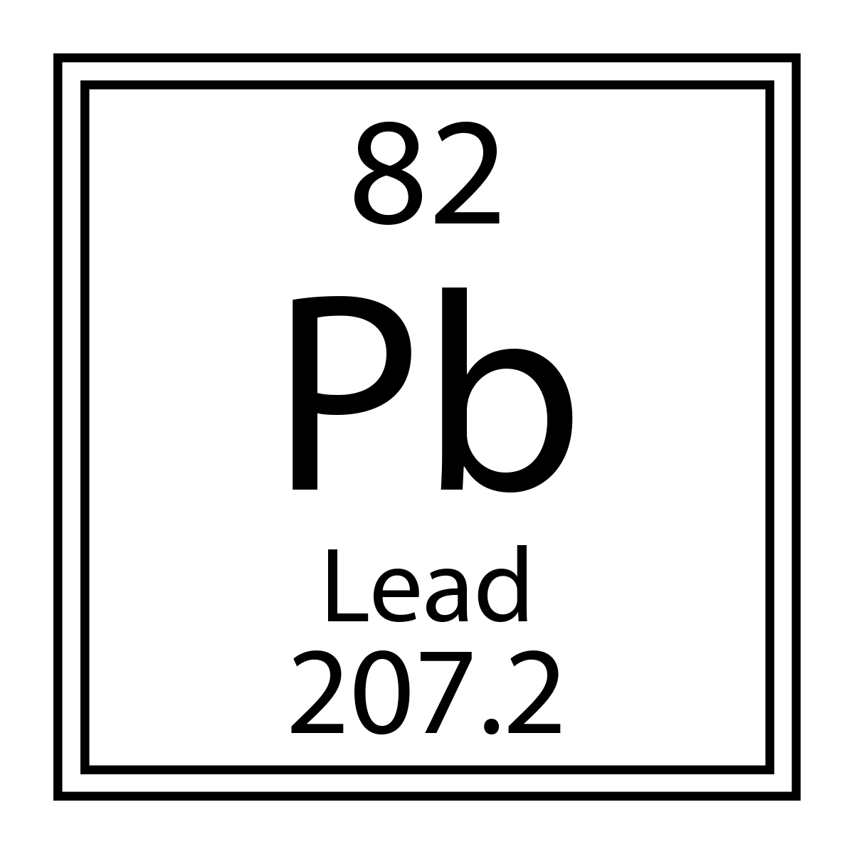 Lead Periodic Table Protons