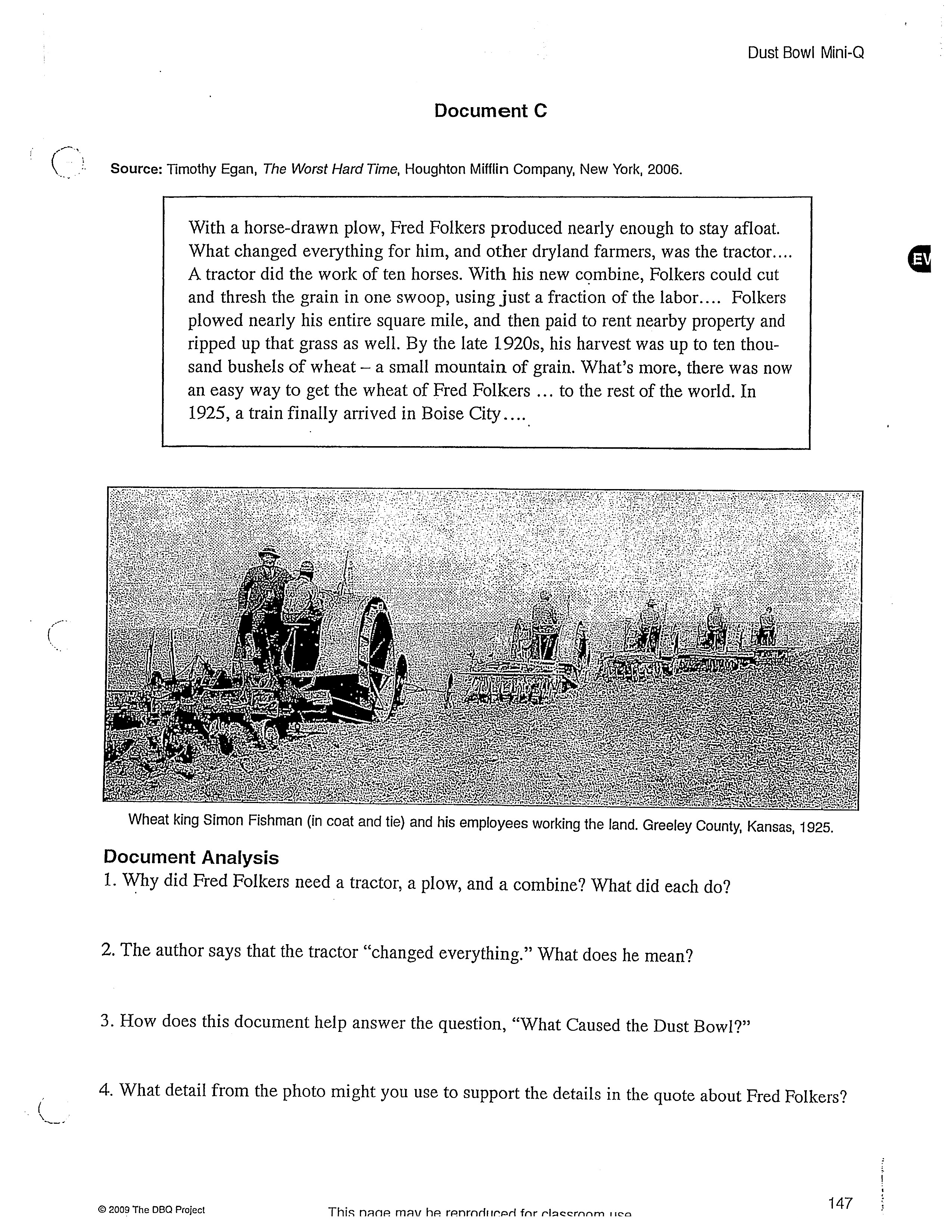 What Caused The Dust Bowl On Emaze