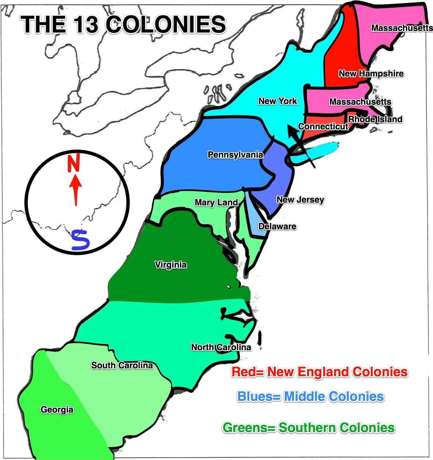 The 13 Coloniesby On Emaze