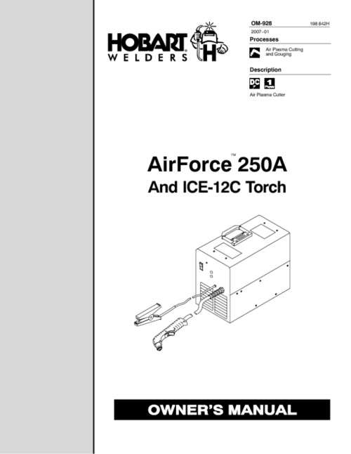 small resolution of 250a manuals