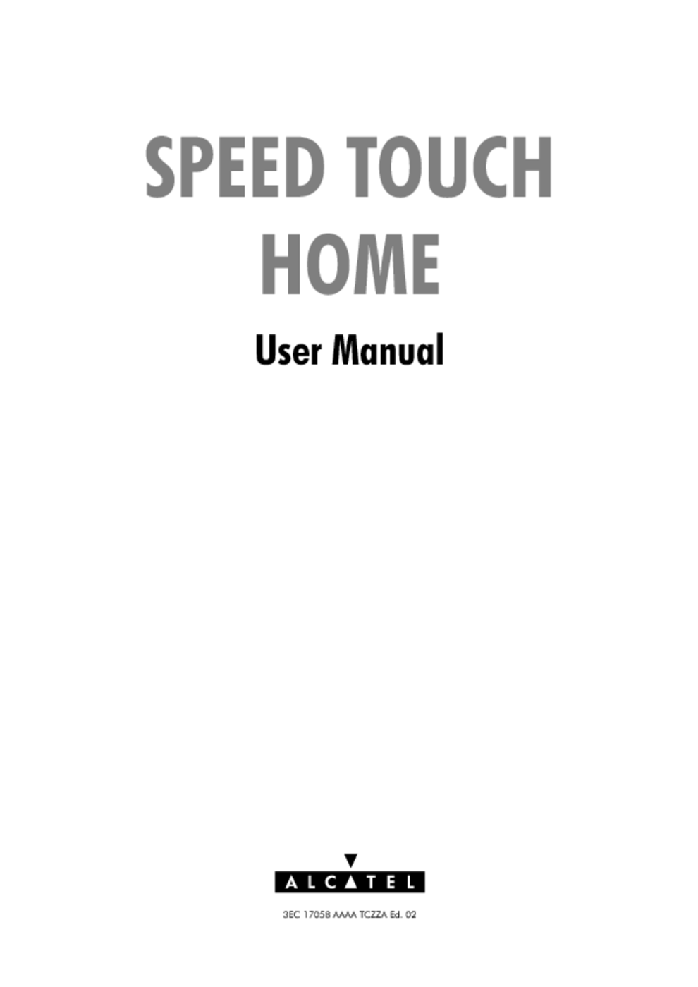 SpeedTouch Speed Touch Home Asymmetric Digital Subscriber