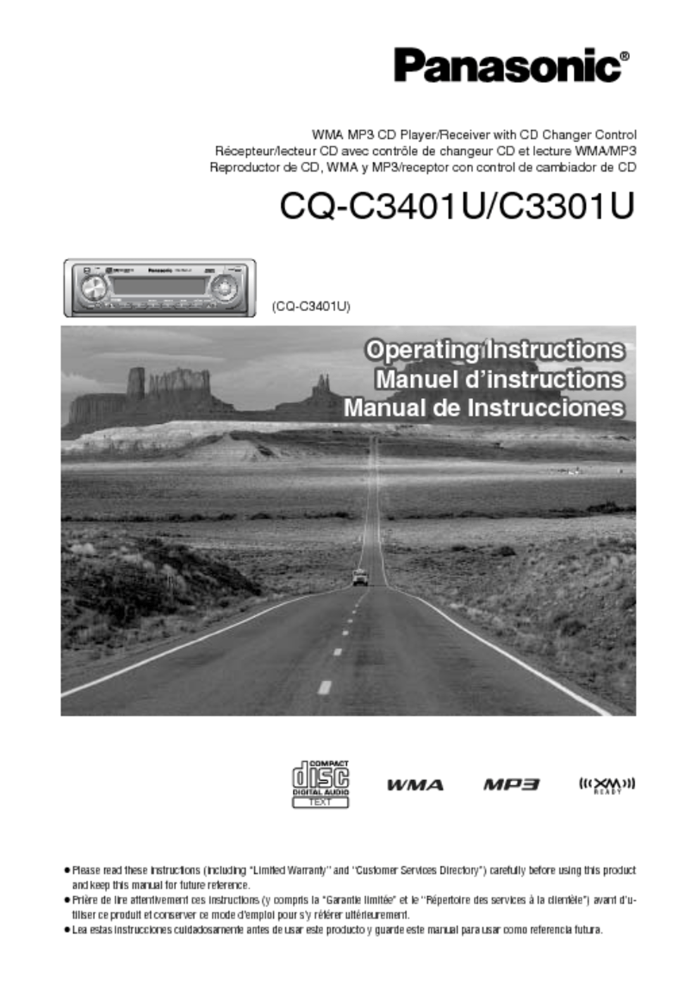 hight resolution of view the manual cq c3401u manuals