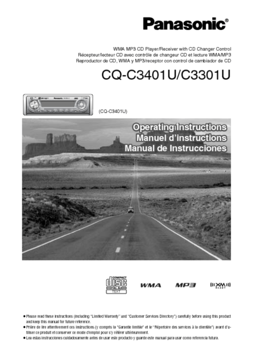 small resolution of view the manual cq c3401u manuals