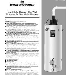 gas water heaters manuals [ 990 x 1281 Pixel ]