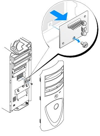 Control Panel: Dell Precision Workstation 370 User's Guide