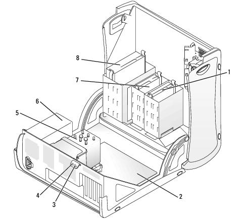 Your Mini-Tower Computer: Dell Precision Workstation 370
