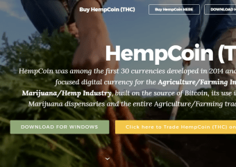 hmp2 - Hempcoin (THC) - The oldest Marijuana & Agriculture Cryptocurrency