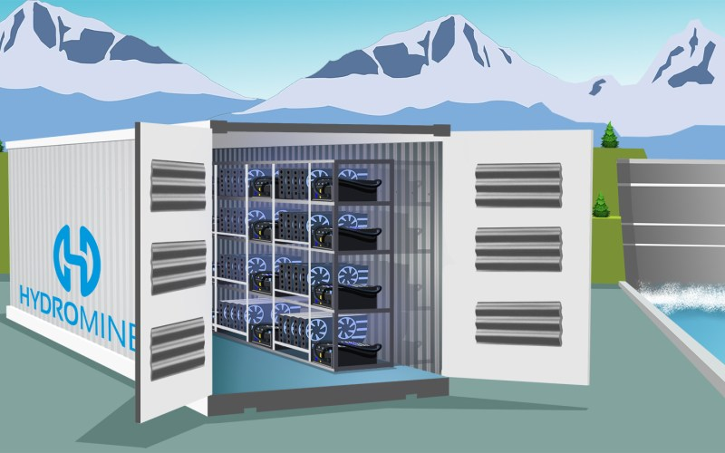 hydro2 - HydroMiner - The First Eco-Friendly Mining Business
