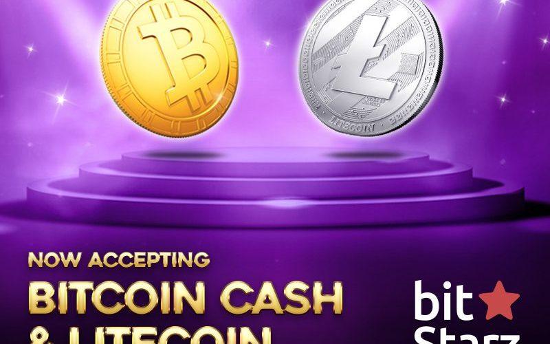 BitcoinCash Litecoin banner 800x600 v01 - BitStarz Now Accepts Litecoin (LTC) And Bitcoin Cash (BCH)