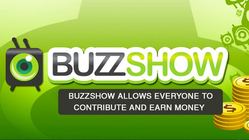 Buzzshow 1 - Blockchain-based Social Video Networks allows everyone involved to contribute and earn money