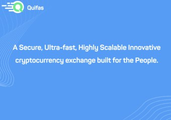 Quifas Cover.001 - New Customer Focused Crypto Exchange Quifas to Start Token Sale on March 9