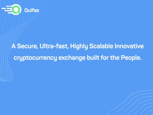 Quifas Cover.001 300x225 - New Customer Focused Crypto Exchange Quifas to Start Token Sale on March 9