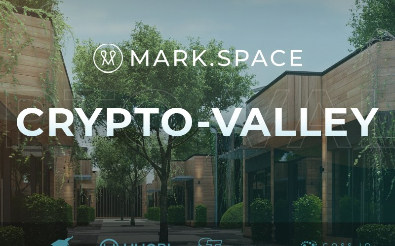 pr3 - Blockchain Powered 3D and VR Open Source Platform MARK.SPACE Announces the Launch of CRYPTO.VALLEY Virtual  City