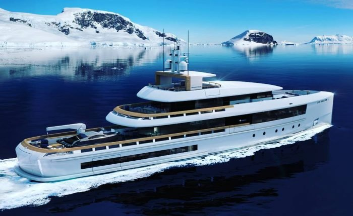 yacht e1518886669793 - Hatteras M90 Can Be Purchased With Bitcoin At Miami Yacht Show