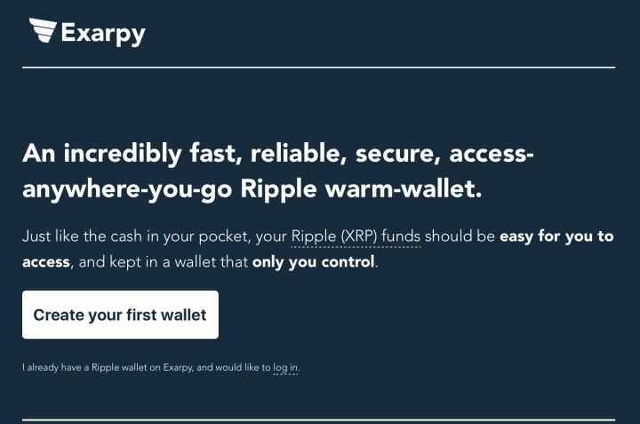 exarpy wallet - Top 5 Most Secure Ripple Wallets In 2018