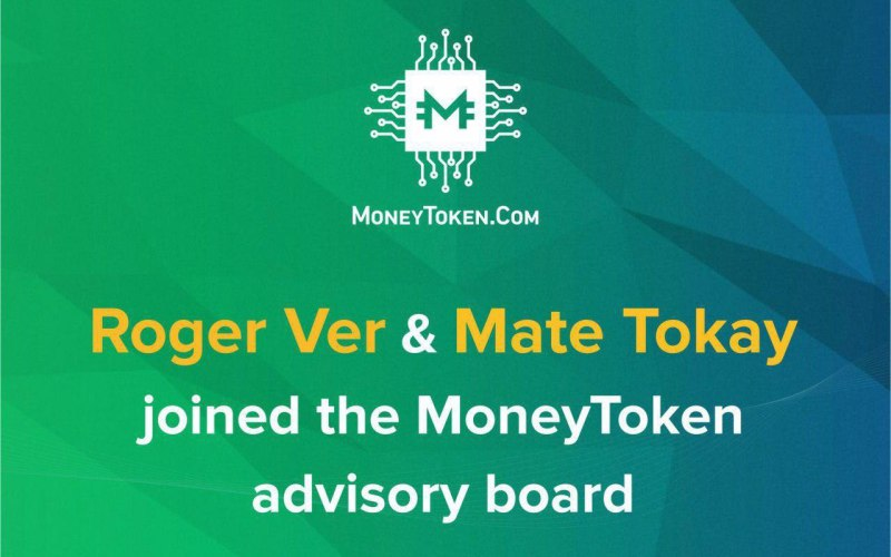 photo5942871339406830621 - Roger Ver, Founder of Bitcoin.Com, and COO, Mate Tokay, Join MoneyToken Advisory Board - bringing benefits to the BCH community.