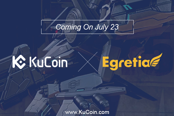 Egretia Coming Now To Kucoin 600 400 - KuCoin Announces EGT As Part Of Their Growing List Of Potential Tokens