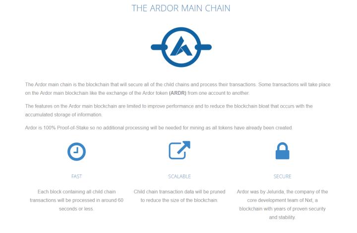main chain