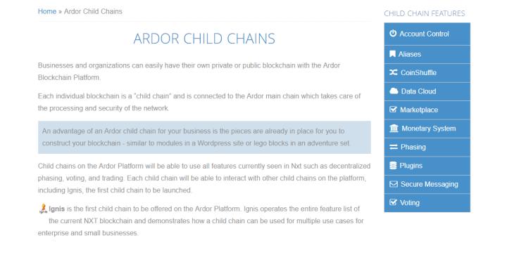 child chain