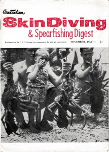 Australian Skindiving and Spearfishing Digest 1958 November