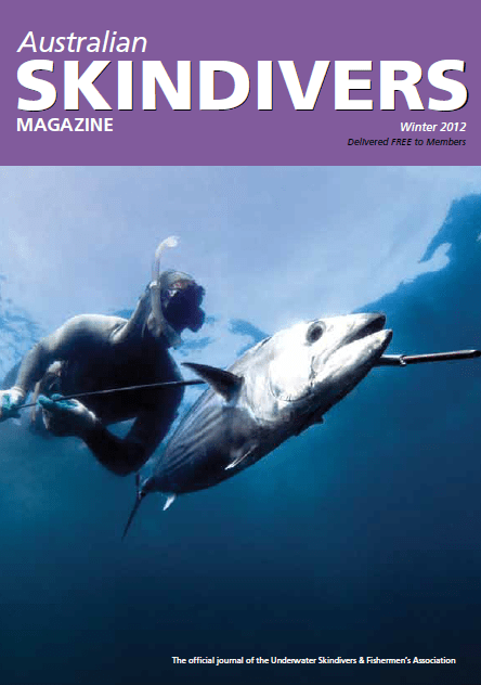 Australian Skindivers Magazine - Winter 2012