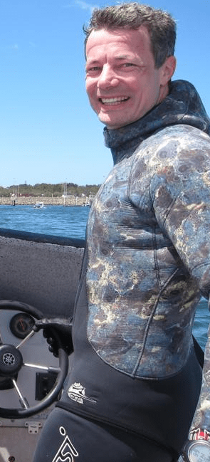 Simon Trippe - freediving/spearfishing principal instructor at Apnea Australia