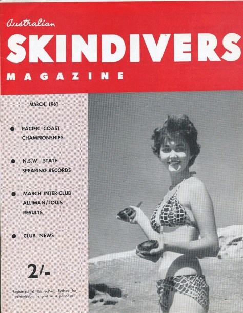 Australian Skindivers Magazine - March 1961