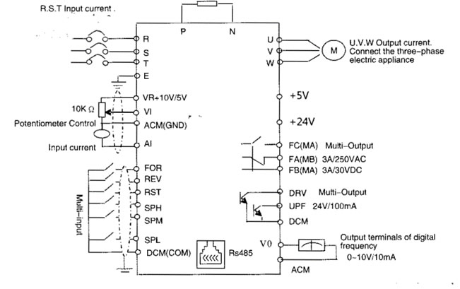 teco single phase motor wiring diagram 1986 porsche 944 potentiometer vfd, potentiometer, free engine image for user manual download