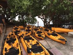 kajak 2 boats