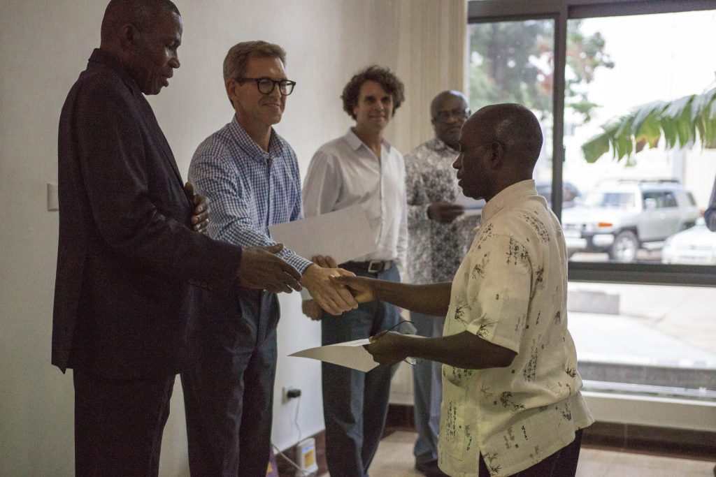 Carbon Institute training in Brazzaville, DRC