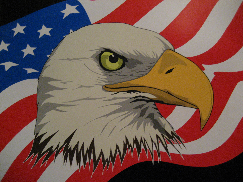 eagle-flag