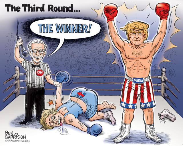 debate_hillary_trump_ben_garrison