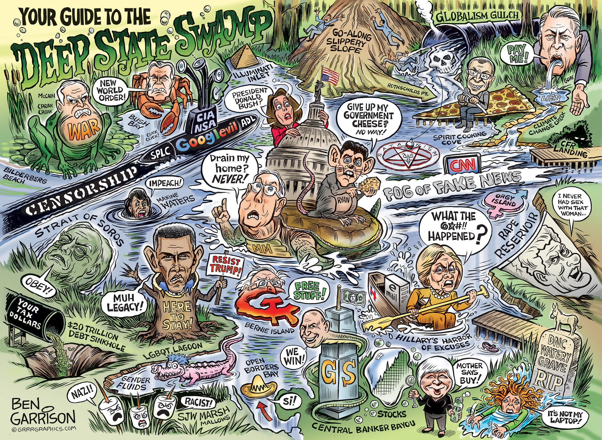 guide-to-deep-state-swamp-ben-garrison