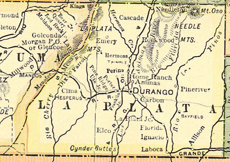 Colorado Maps US Digital Map Library Colorado Atlas 1920