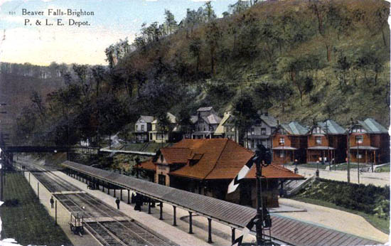 Penny Postcards from Beaver County Pennsylvania