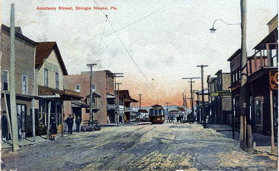 Penny Postcards From Potter County Pennsylvania